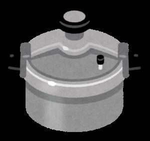 圧力鍋のイラスト