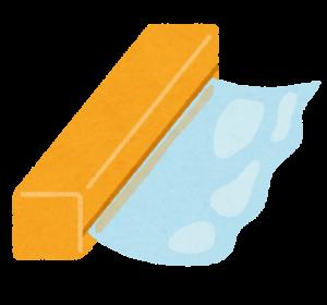サランラップのイラスト