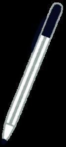 ボールペンのイラスト