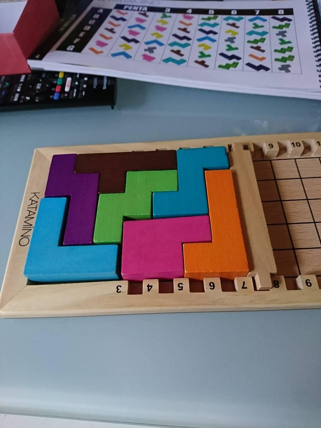 ギガミック カタミノ パズルゲーム