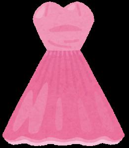 ドレスのイラスト