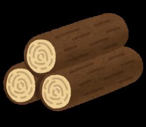 木材のイラスト