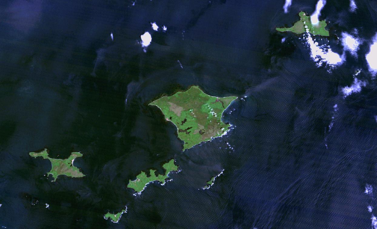 歯舞群島(はぼまいぐんとう)