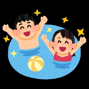 プールのイラスト
