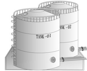 タンクのイラスト