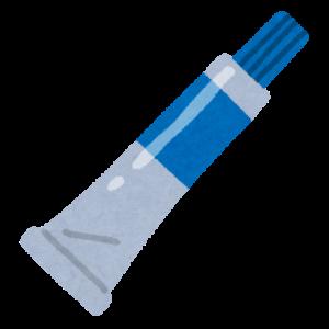 接着剤のイラスト